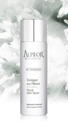 alpeor floral skin toner