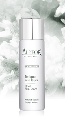 alpeor floral skin toner purifying