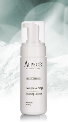 alpeor foaming cleanser