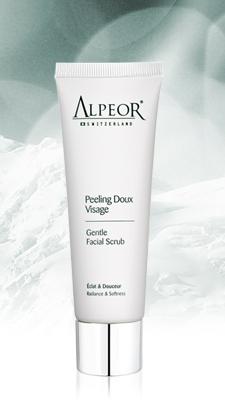 alpeor gentle facial scrub