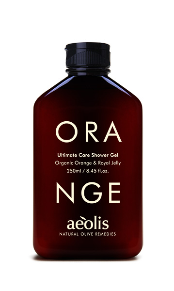 aeolis ultimate care shower gel
