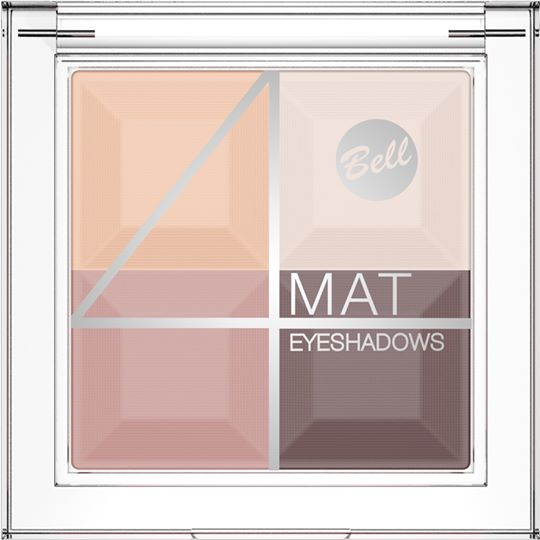 bell: 4 mat eyeshadow