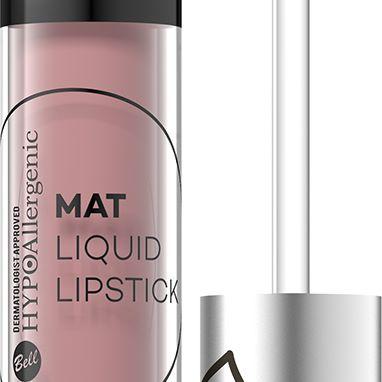 bell: hypoallergenic mat liquid lipstick 02 warsaw, 03 las vegas, 101 sopot