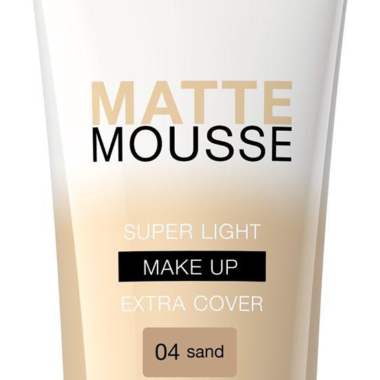 bell: secretale matte mousse make-up 01 nude, 02 natural, 03 beige, 04 sand