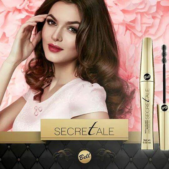 bell: secretale mega volume mascara with argan oil